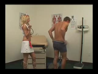 Man Gets Anal Test From Hot Physician