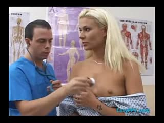 Physician Probes Asshole And Stacy Thorns Pussy