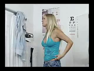 Blond Hottie Gets Complete Medical Exam