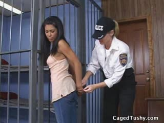 Hispanic hottie gets dragged to jail by her hair