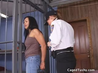 Mature asian hooker gets locked up