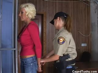Busty blonde Puma Swede gets busted