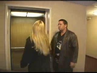Feisty blonde argues with her boyfriend