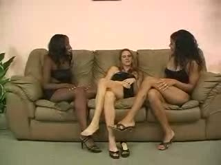 Two Black Hot Lesbians Lick This Young Girls Ass