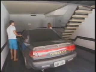 Schoolgirl Shemale Welcomes Boyfriend Home
