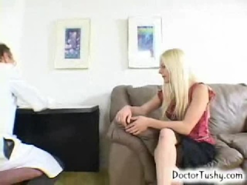 Hot Girl First Time Going To A  Male Doctor for her Check up.