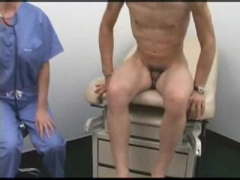 Femdom -Doctor Inserts Dildo In Examination Room