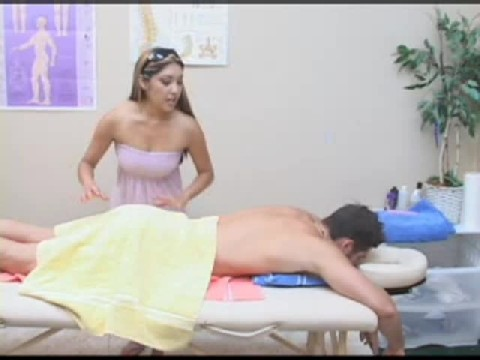 Female Masseuse Fucks Guys Ass