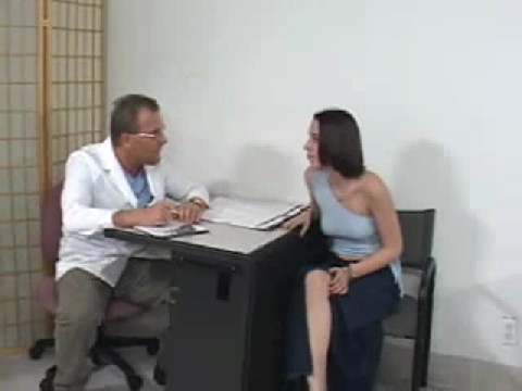 Hot Girl Gets a Full Body Medical Exam By Doctor