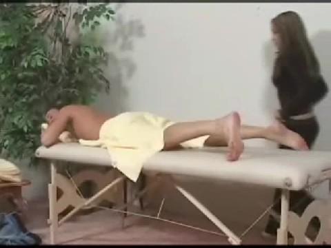 Massage Leaves Him Very Happy