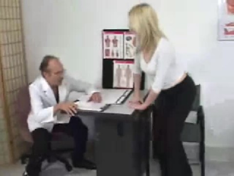 Tall Hot Girl Goes to Her Old Man Doctor