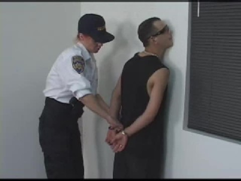 Female Cop Spanks And Gives This Guy A Anal Cavity Check He Will Remember