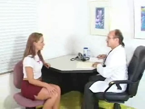 Stunning Girl Nude And Her Body Examined By Male Doctor