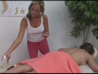 Girl Gets Naked for her All Girl Massage Porn Movie